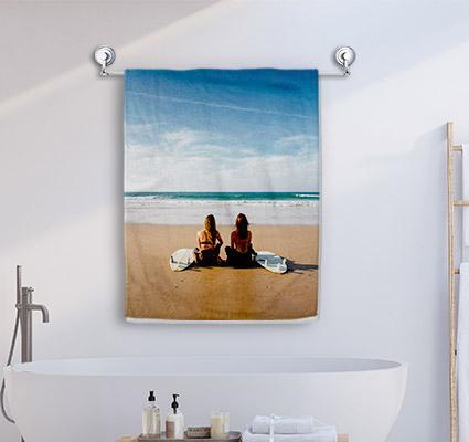 Ihr Foto als Handtuch ab 26€
